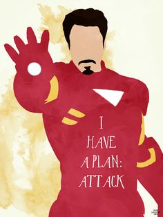 I have a plan: Attack #quotes | The Avengers #fanart
