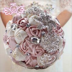 Item Type: Wedding Bouquet Brand Name: WIFELAI-A Material: Polyester Item Length: 25 cm Item Weight: 0.8 kg Item Width: 19 cm Item Height: 25 cm Model Number: D336 Material: Simulation Item: Korean ro
