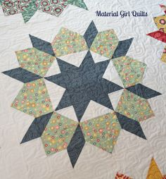 Swoon quilting by Material Girl Quilts, via Flickr