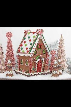 Gingerbread house. :-)