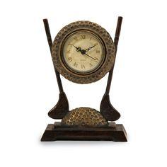 "Imax 7"" Links Desk Clock - Beyond the Rack"