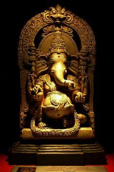 Make this Ganesha Chathurthi 2020 special with rituals and ceremonies. Lord Ganesha is a powerful god that removes Hurdles, grants Wealth, Knowledge & Wisdom. Jai Ganesh, Ganesh Statue, Shree Ganesh, Ganesha Painting, Ganesha Art, Lord Ganesha, Ganesh Tattoo, Krishna Art, Ganesha Pictures
