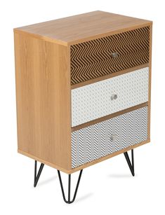Kiama Retro 3 Drawer Bedside Table by Lifestyle Traders. Get it now or find more Bedside Tables at Temple & Webster.