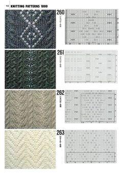 "Photo from album ""Книга 1000 узоров"" on Yandex. Knitting Charts, Knitting Stitches, Knitting Needles, Knitting Patterns, Yarn Thread, Thread Crochet, Crochet Yarn, Pattern Library, Pattern Books"