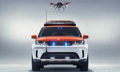 Land Rover mit Drohnen-Landeplatz auf dem Dach - Engadget Deutschland