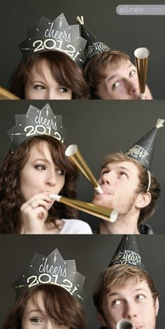 Free New Year's Crown Printable