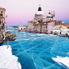 rollercoasters in cities venice frozen over nois7 surreal photos images manipulations V2