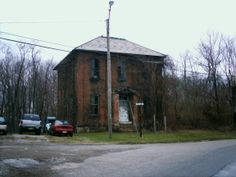 Sewellsville, OH (Belmont County) - An abandoned school at the intersection of Rt. 800 & McCoy Rd.