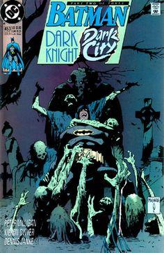 Favourite Comic Covers: Batman #453 by Mike Mignola (DC Comics)