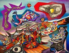 Dawn - Esteban Frances - - Surrealism, 1940