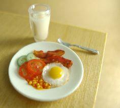 Miniarue Breakfast - so realistic
