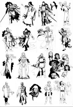 Wheel Of Time Character Design by ChaseConley on deviantART