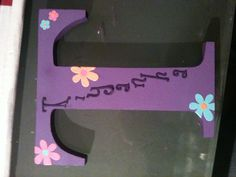 Initials 17cm high au$12 Initials, Crafts For Kids, Symbols, Letters, Heart, Frame, Home Decor, Homemade Home Decor, Kids Arts And Crafts
