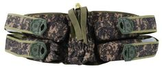 U.S. Army 4+1 Deluxe Harness by Tippmann Tactical. $23.88. Four (140 count) ergonomically placed pod holders make reloading quick and easy. Run a remote line to your 68 cubic inch or smaller air system using its adjustable tank holder. Designed to provide you superior comfort, this deluxe harness has a fully adjustable, double wrap belt design for a truly custom fit. A wide belt and no slip grip pad will keep your pack in place while your crawl, run, dive and sli...