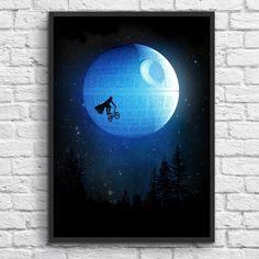 Free Printable für Star Wars Fans Framed Art Prints, Painting Prints, Framed Artwork, Let's Have Fun, Star Wars Humor, Find Art, Canvas Wall Art, Giclee Print, Art Pieces