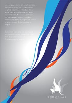 vector image Corporate Swirl Vector Background Design 02