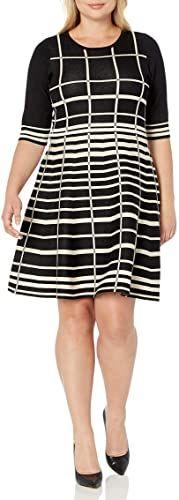 New Gabby Skye Women's Plus Size Elbow Sleeve Scoop Neck Fit Long Knit Cardigan, Drape Cardigan, Cardigan Sweaters For Women, Plus Size Sweater Dress, Leopard Dress, Plus Size Casual, Hoodie Dress, Color Block Sweater, Long Hoodie