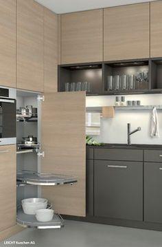 Interior Accessories - contemporary - kitchen cabinets - minneapolis - Belle Kitchen design | build