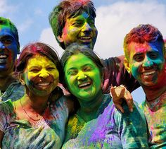 33 Beautiful Faces From This Year's Holi Festival