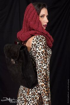 New collection / leopard love / genuine leather backpack / www.dafnihandmade.gr /