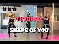 Tutorial - Shape of You - Ed Sheeran - Saskia's Dansschool - Easy Fitness Dance Dance Exercise, Easy Fitness, Dance Music Videos, Cheer Dance, Dance Teacher, Hip Hop Dance, Dance Choreography, Shape Of You, Ed Sheeran