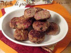Polpette al prosciutto cotte in forno Le Polpette al prosciutto cotte in forno è la ricetta ideale per chi ha poco tempo da dedicare alla cucina e vuol por