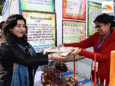 Souvenirs given to each participant for their wonderful contribution in Maths Expo, given by Mrs Pooja Ahuja, Program Director of AVAS