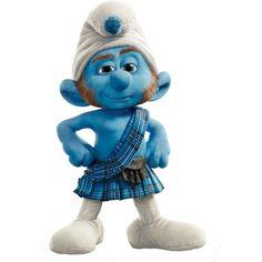 Gutsy Smurf.