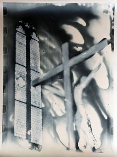 Memfuss.Specchio Patibolare, stampa ai sali di argento da pellicola fotografica, 40x30 cm, 2016.