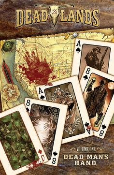Cover Art from our upcoming release in March 2015! Deadlands:Dead Man's Hand