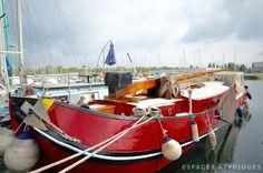 Bordeaux : Péniche hollandaise habitable aux bassins à flot - Agence EA Bordeaux
