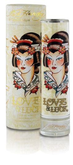 Geisha perfume receptacle