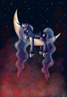 Luna by PPonyOO.deviantart.com on @deviantART