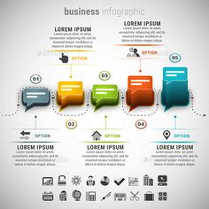 Business Infographic Template PSD, Vector EPS, AI Illustrator. Download here: http://graphicriver.net/item/business-infographic/15936374?ref=ksioks