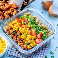 Taco Scramble Breakfast Meal Prep Bowls for Clean Eating Success! - Clean Food Crush Taco Scramble Breakfast Meal Prep Bowls for Clean Eating Success! Clean Eating Breakfast, Clean Eating Diet, Healthy Eating, Healthy Meal Prep, Healthy Recipes, Healthy Foods, Keto Recipes, Food Crush, Meal Prep Bowls