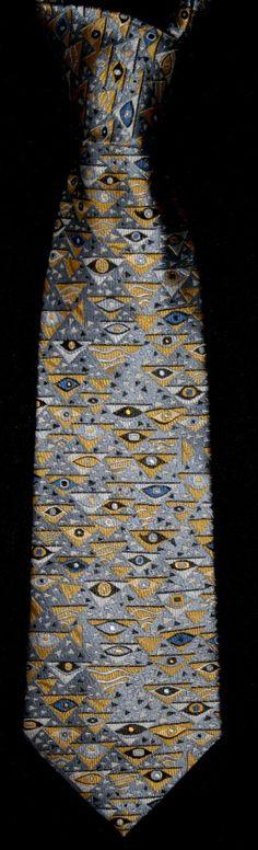 Corbata seda Klimt : Art Nouveau