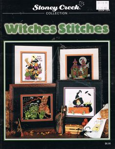 CCS STONEY CREEK 284 Witches Stitches by BusyBeaverBoutique