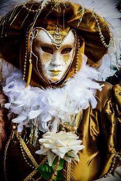 My Portraits Of Mysterious Characters From The Venice Carnival | Bored Panda