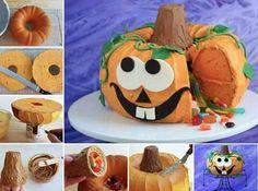 Pumpkin cake surprise