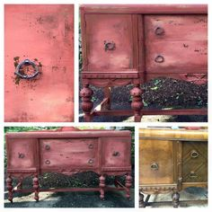 Rust & Found: refurbished vintage buffet, 2016