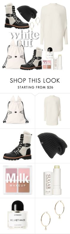 """""""Polar Bear"""" by li-sa-mrie ❤ liked on Polyvore featuring Designers Remix, Sigerson Morrison, The North Face, Therapy, Byredo and Mateo"""