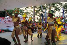 El baile del indio representación del alojamiento temporal Ayapel