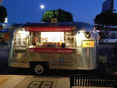 Cute Airstream converted into a food truck serving Japanese curry by jenndial911, via Flickr