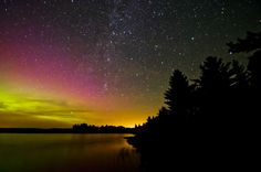 Aurora from the Island by Christopher Georgia on 500px