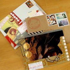 Mail Art - collage inspiration. https://www.flickr.com/photos/donovan_beeson/
