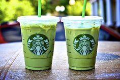 So, hi.: diy starbucks iced green tea latte.