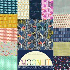MOONLIT by Rashida Coleman-Hale for Cotton+Steel #fabric #quilting #cottonandsteel