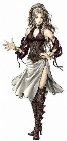 rpg female bard outfits - Google Search