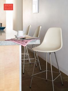 Eames® Molded Fiberglass Counter Stool | Design Within Reach