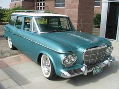 1962 studebaker lark wagon by corvair dude, via Flickr